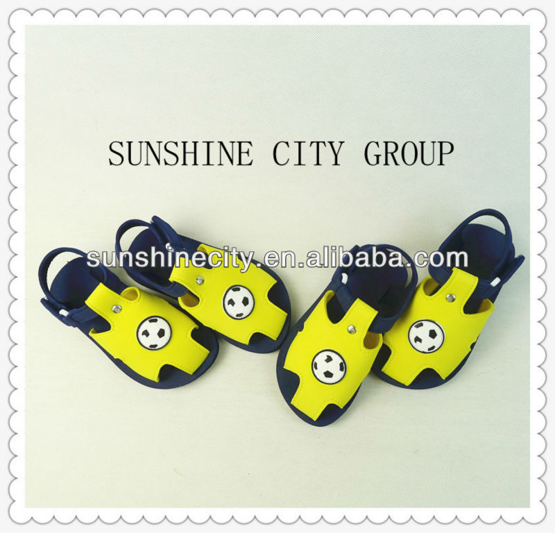 NEW STYLE FOOTBALL BEACH KID EVA SANDALS