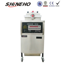 electrical automatic deep fat fryer/portable vacuum fryer/continuous fryer chicken