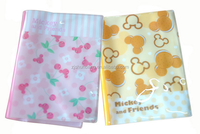 2015 wholesale cheap price oem plastic book jacket with cute ptinting design