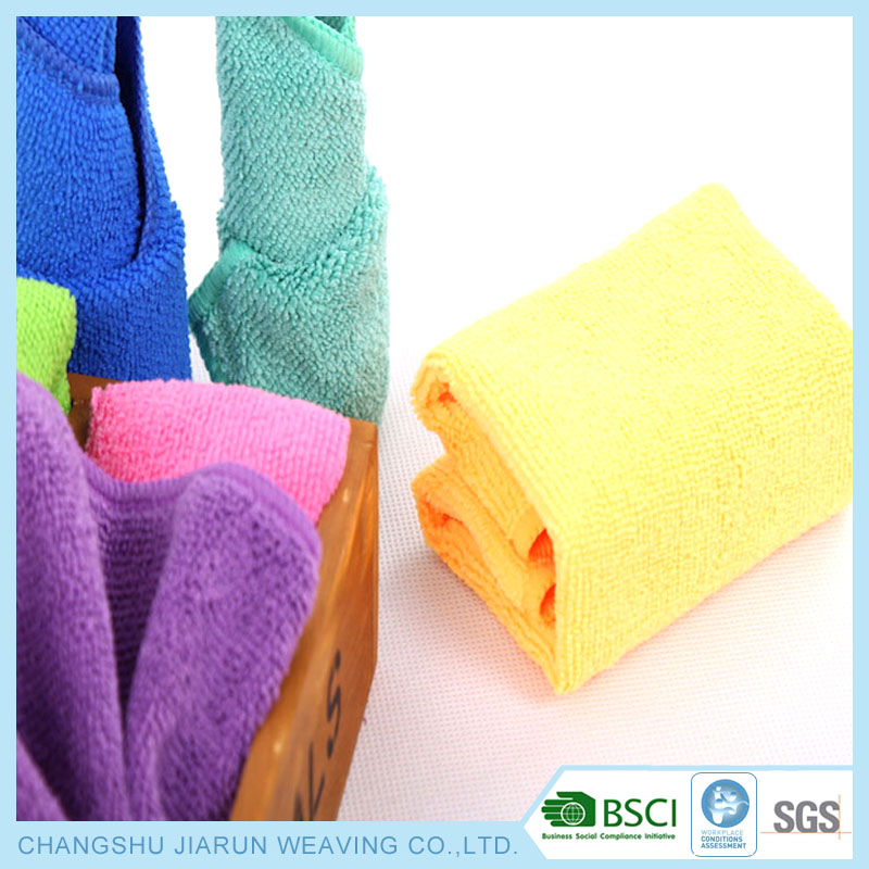 Made in China BSCI JIARUN multipurpose wholesale microfiber cloth in bulk for car kitchen glass,industrial,hospital cleaning