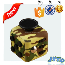Fashion Stress Relief Figet Cube Colors Figet Cube duire Pressure Dice Case original 6sides fidget cubes