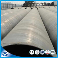 astma36a equivalent spiral welded steel pipe for fluid transportation
