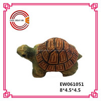cute design small wood craft turtle for the decoration