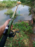 By BIRDKING shot fishing rod of hunting birds fish gun with powerful slingshot