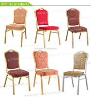 XYM Furniture Best Selling High Quality Iron Banquet Chair