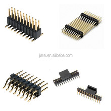 Board to Board Connector Dual row Gold Plated 2.54mm Pitch Pin header