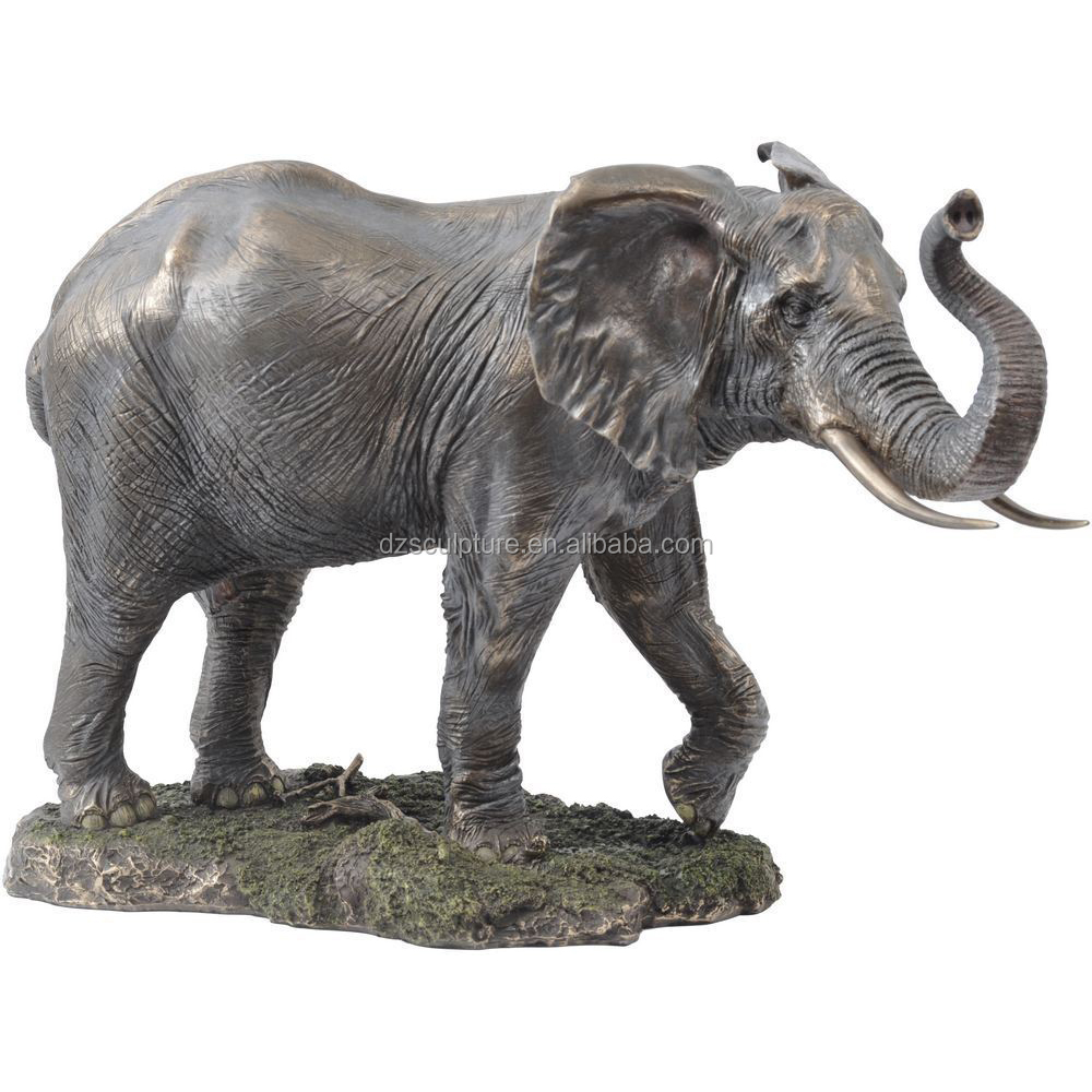 new products outdoor antique bronze elephant sculpture