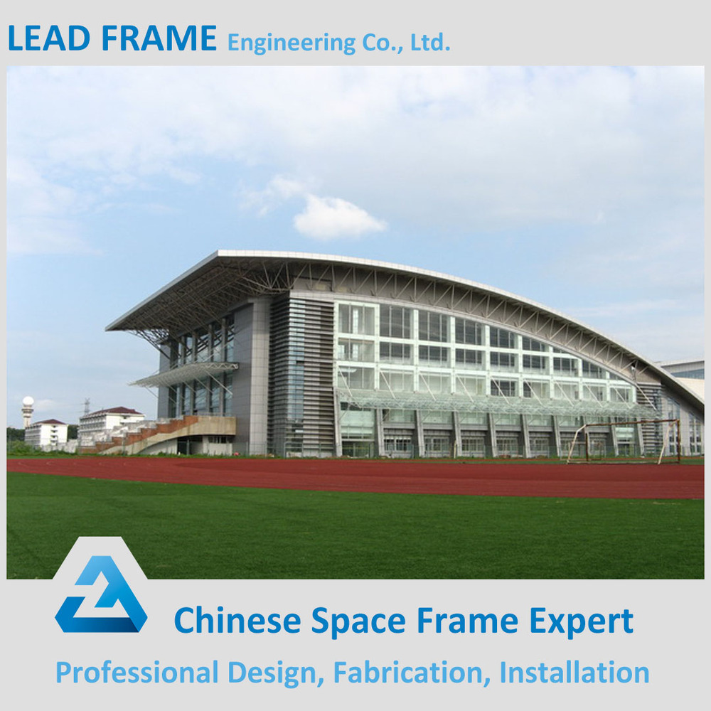 Light Weight steel structure space frame soccer stadium