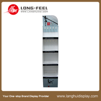 POS Retail Cardboard Advertising Display Stand for mobile accessories