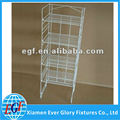 4 Tier Adjustable Metal Wire Retail Store Display Shelf