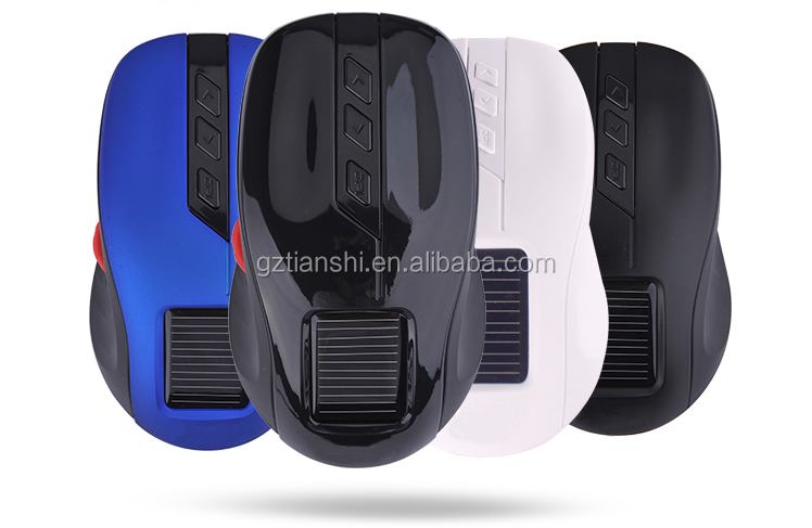 Enjoy reliable reputation solar left wheel wireless mouse