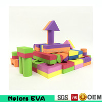 High quality double color diy block toy educational toys kindergarten