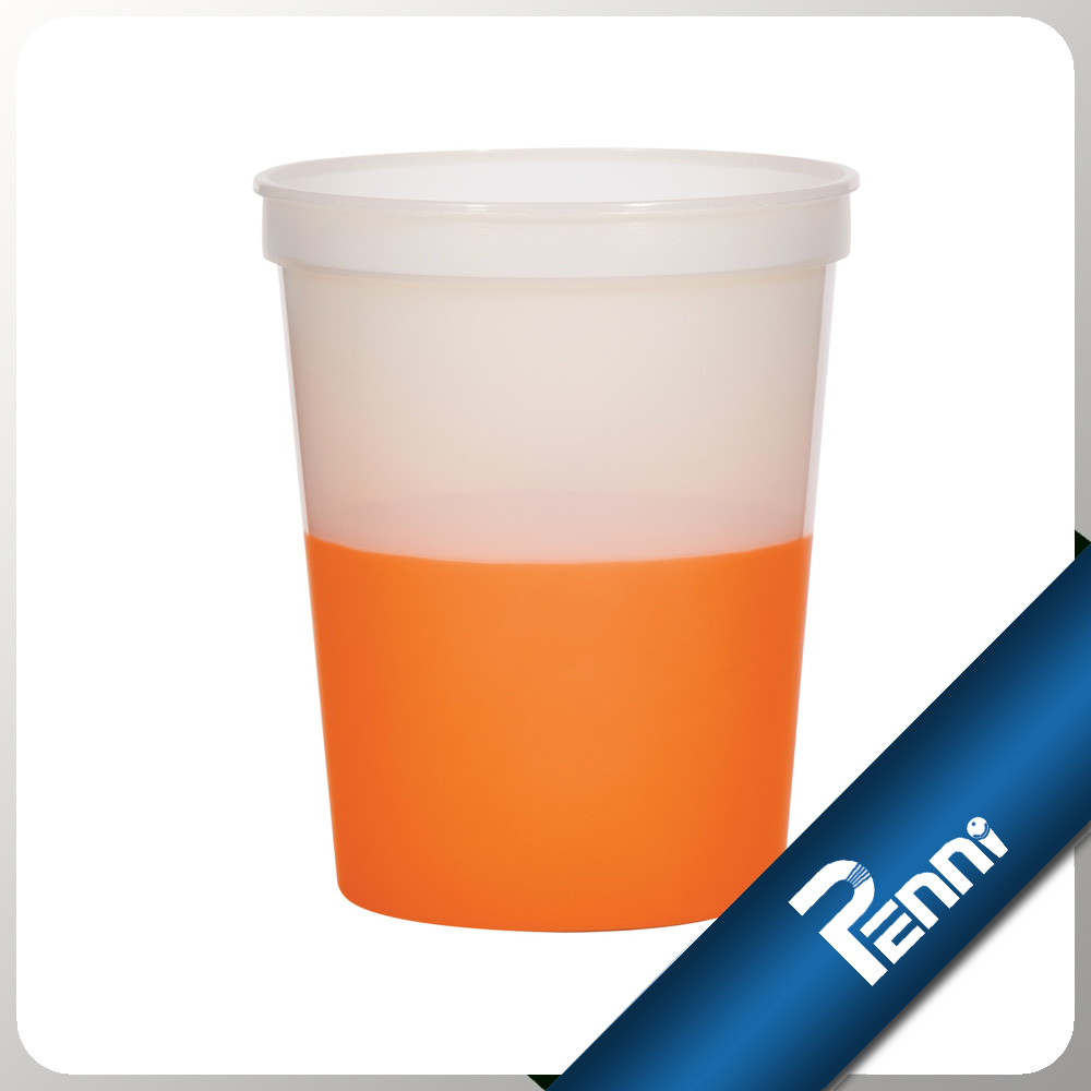 Food Grade Plastic Change Color Cup