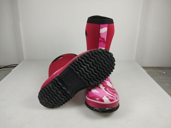 cheap neoprene latest design kids boots