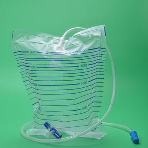 Disposable sterile urinary urine collection drainage bag 2000ml