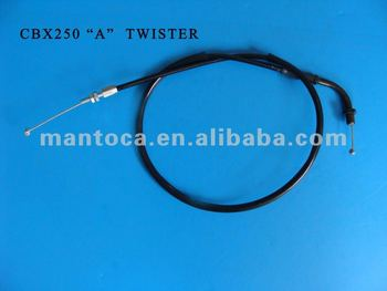 "CBX250 ""A"" TWISTER cable- Throttle cable OEM NO. 17910-KPF-9003"