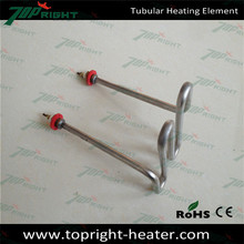 water tubular electric heating element for steamer