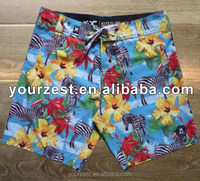 MEN'S 4 WAY STRETCH SUBLIMATION PRINT BOARDSHORTS