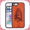 high quality color printing cool cell phone cases,cherry wood case
