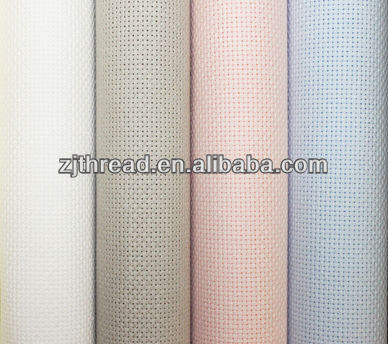 100% cotton11CT aida Cross Stitch Fabric
