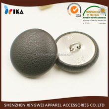 Handmade sewing PU Leather covered button