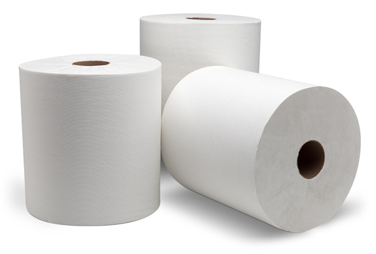 1ply 18CM*80M Recycled White or Kraft Hand Roll Paper Towel