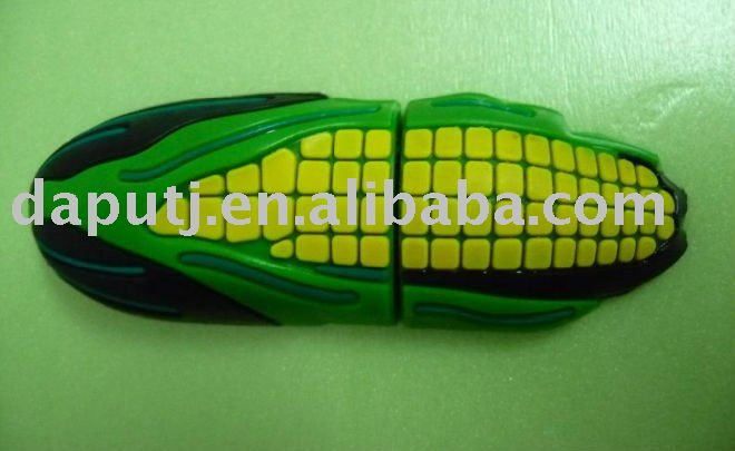 Hot! Corn shape usb memory disk for gift promotion with cheap price!