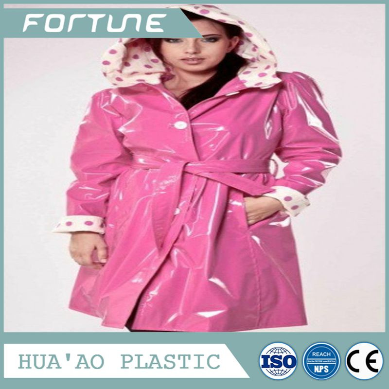 Pvc Plastic Film /kids waterproof rainwear