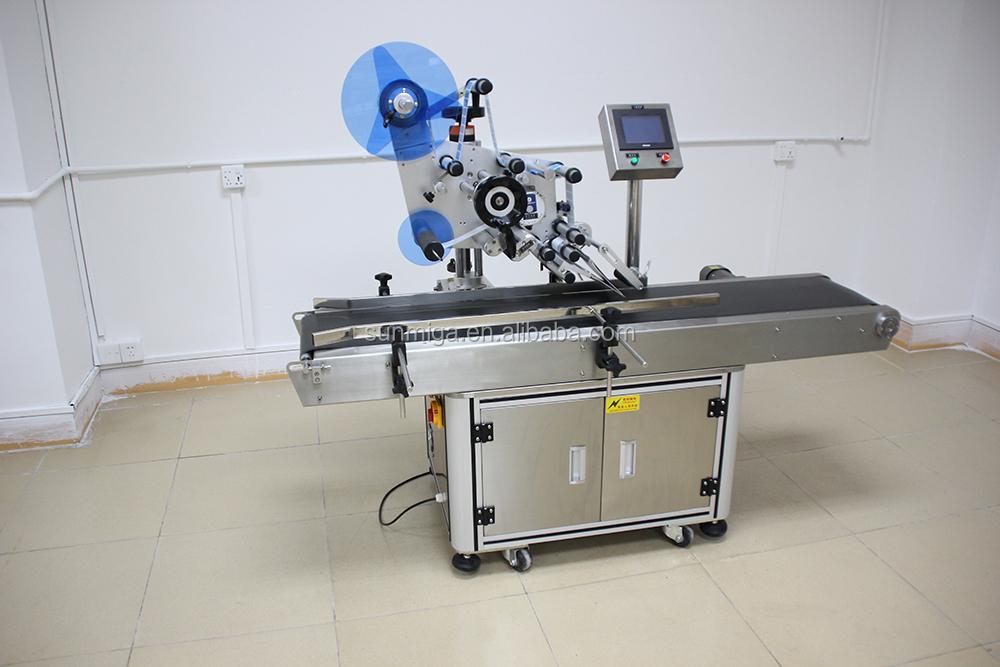 Automatic plane labeling machine/ brander machine/ label sticking machine