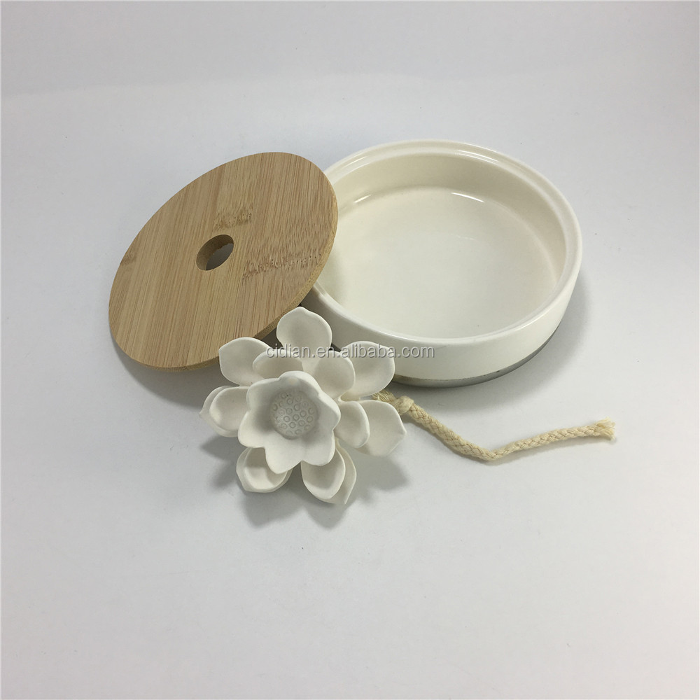 Ceramic essential oil fragrance diffuser aromatherapy