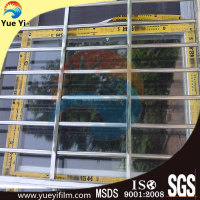 Printable aluminum window protective film