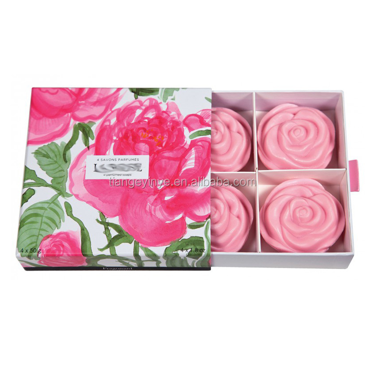 Perfumed Soap Packaging Box Recycled Packaging Gift Box For Soap