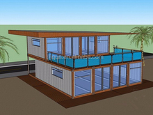 prefabricated building houses steel structure villa prefabricated villas