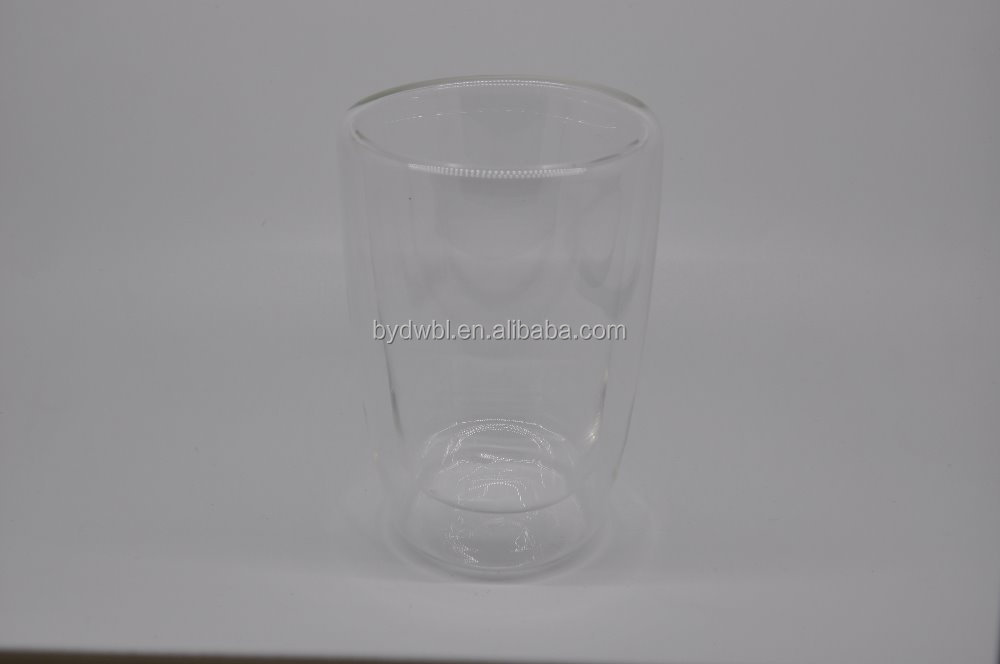 hand made glass juice cup