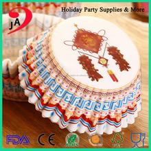 China Custom Paper Cupcake Liners Muffin Cupcake Baking Cups Liners Manufacturer