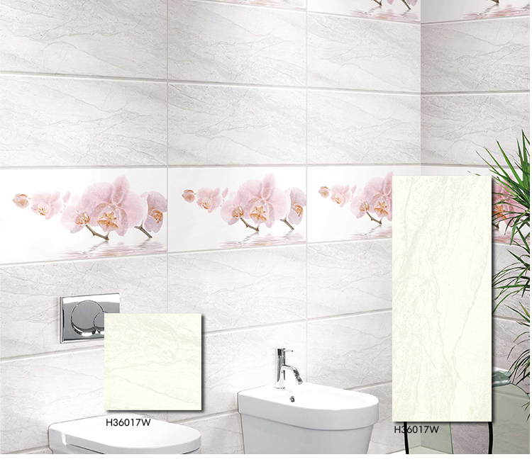 Malaysia Polished Porcelain White Horse Ceramic Tile Wall, View ...