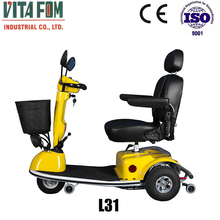 Security 3 Wheel Foldable Electric Scooter 450W