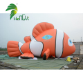 Giant 10M Long Advertising Inflatable Flying Helium PVC Fish Model Balloon