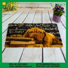 PVC Backing Flocked Fabric Door Mat/Floor Mat
