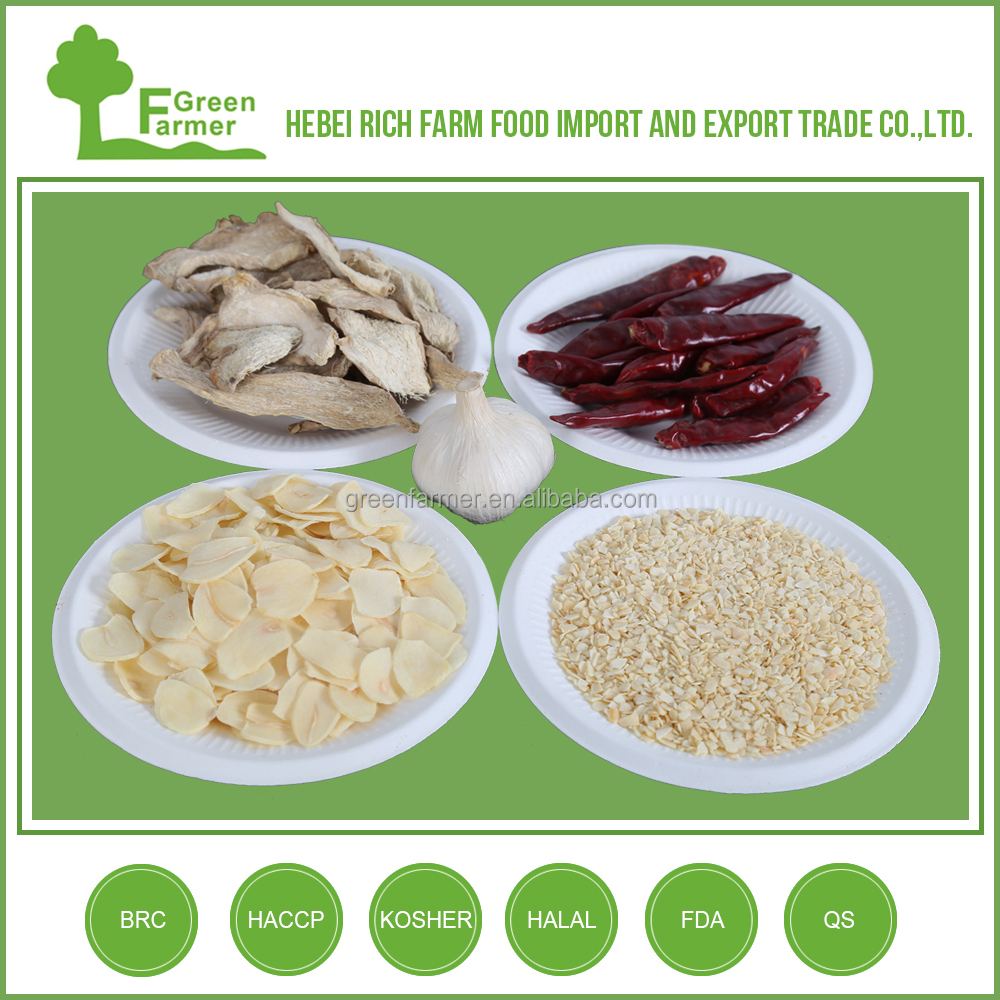 China Hebei high quality dehydrated garlic
