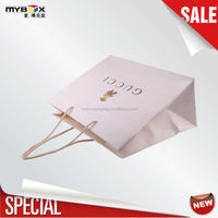 golden letters customized luxury shopping black vehicle brand special paper bag