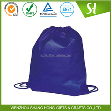 high quality wholesale drawstring backpack/great price shrink bag with corn/blank string bag