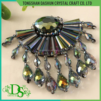 Latest Design Glass Beads Bags Shoes