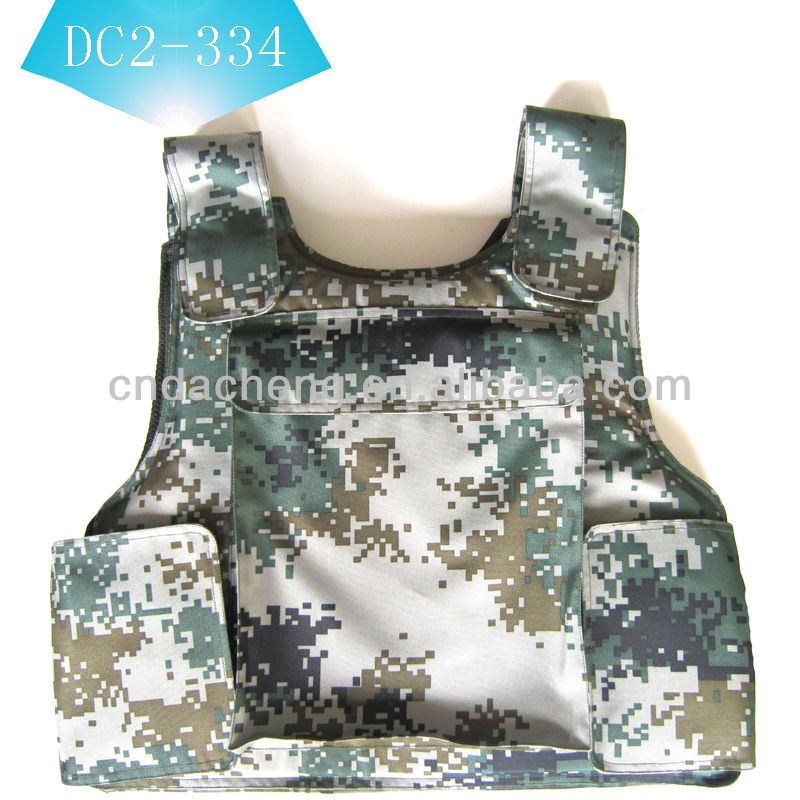 soft body armour with armour panel