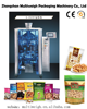 vffs packaging system machine equipment for seed, jelly, fries, granule, peanut, puffyfood, nut, yogurt pet food, frozen foods