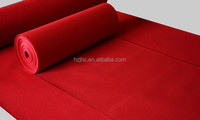 Make-to-order color needle punched polyester nonwoven properties of felt fabric