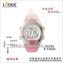 2013 the new transparent wrist watch for women