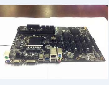 BTC motherboard DDR4 LGA1151 Hot selling Motherboard