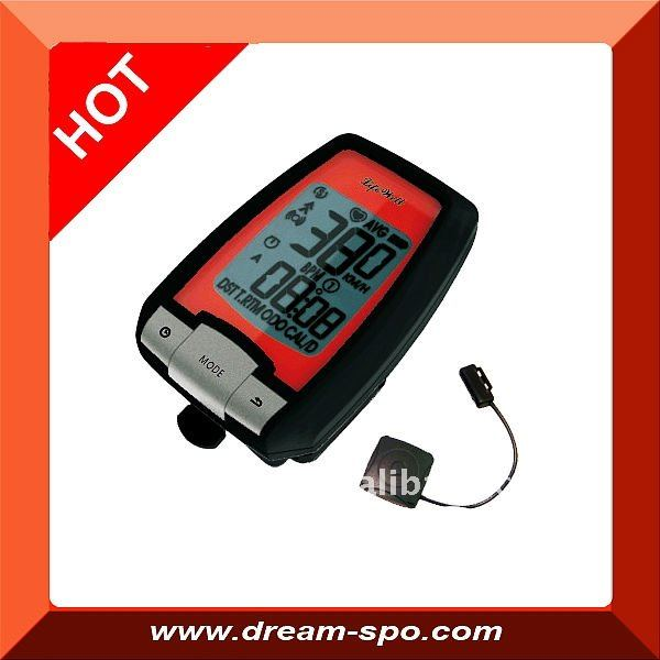 (DCY-160) GPS bicycle computer with heart rate monitor & Pedometer and Altimeter