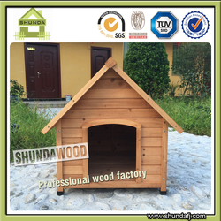 SDD04 Small Wooden Houses Cheap Chain Link Dog Kennels